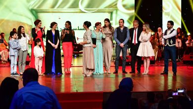 Photo of تهاني الممثلين والممثلات بمناسبة الطبعة الثالثة لجائزة هلال التلفزيون 2018