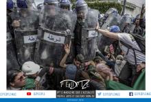صورة فاروق بعطيش يتوج بالجائزة العالمية للصورة الفتوغرافية *وورد برس* عن حراك الطلبة في العاصمة