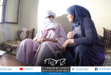 "Photo of المنتجة فتيحة بوروينة تتحدث عن الإنتاج  وظروف تصوير ""الصيام الأزرق""   …"